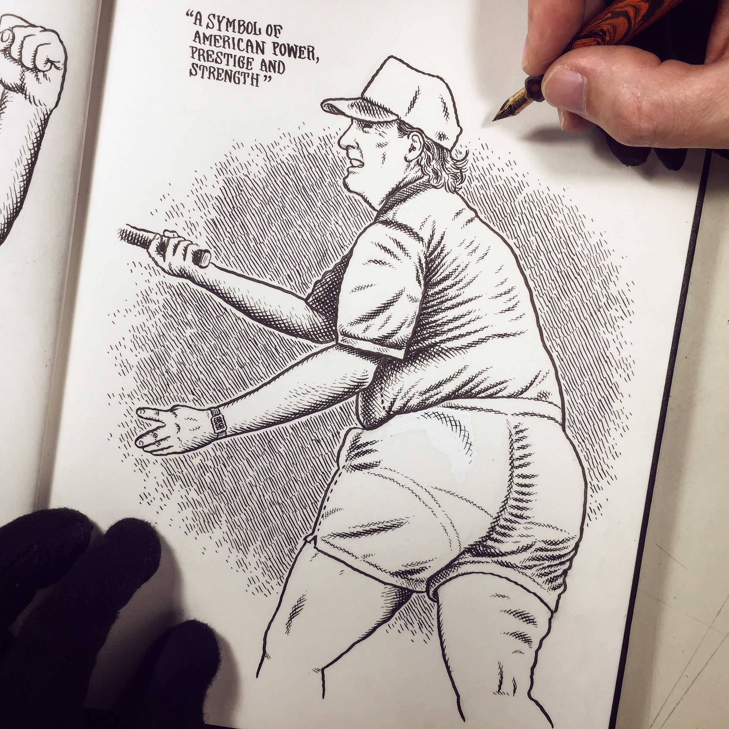 Trump's Ass by Christoph Mueller