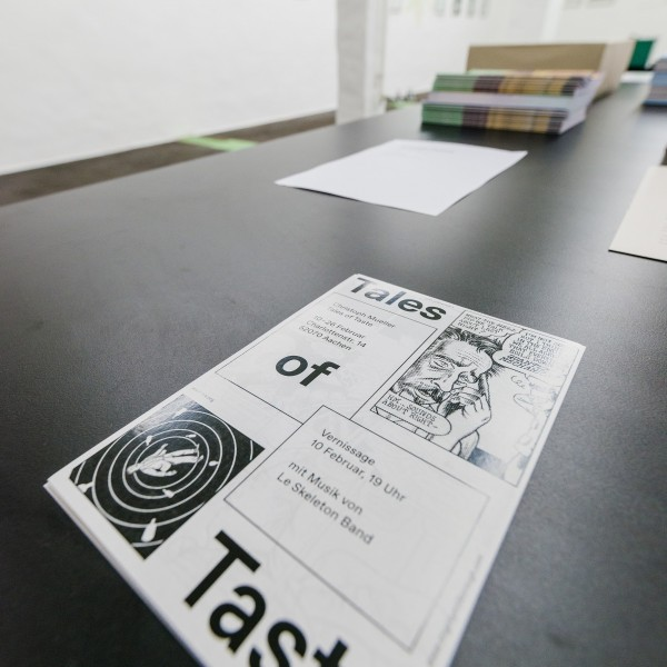 Christoph Mueller Tales of Taste Exhibition