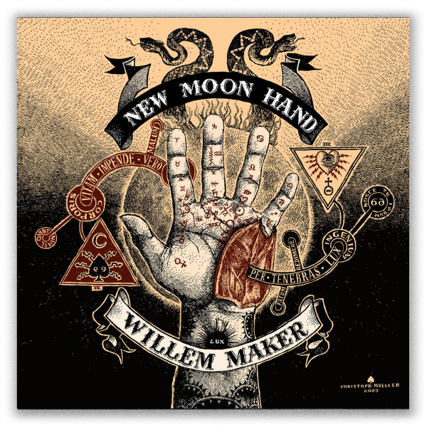 Willem Maker – New Moon Hand artwork by Christoph Mueller