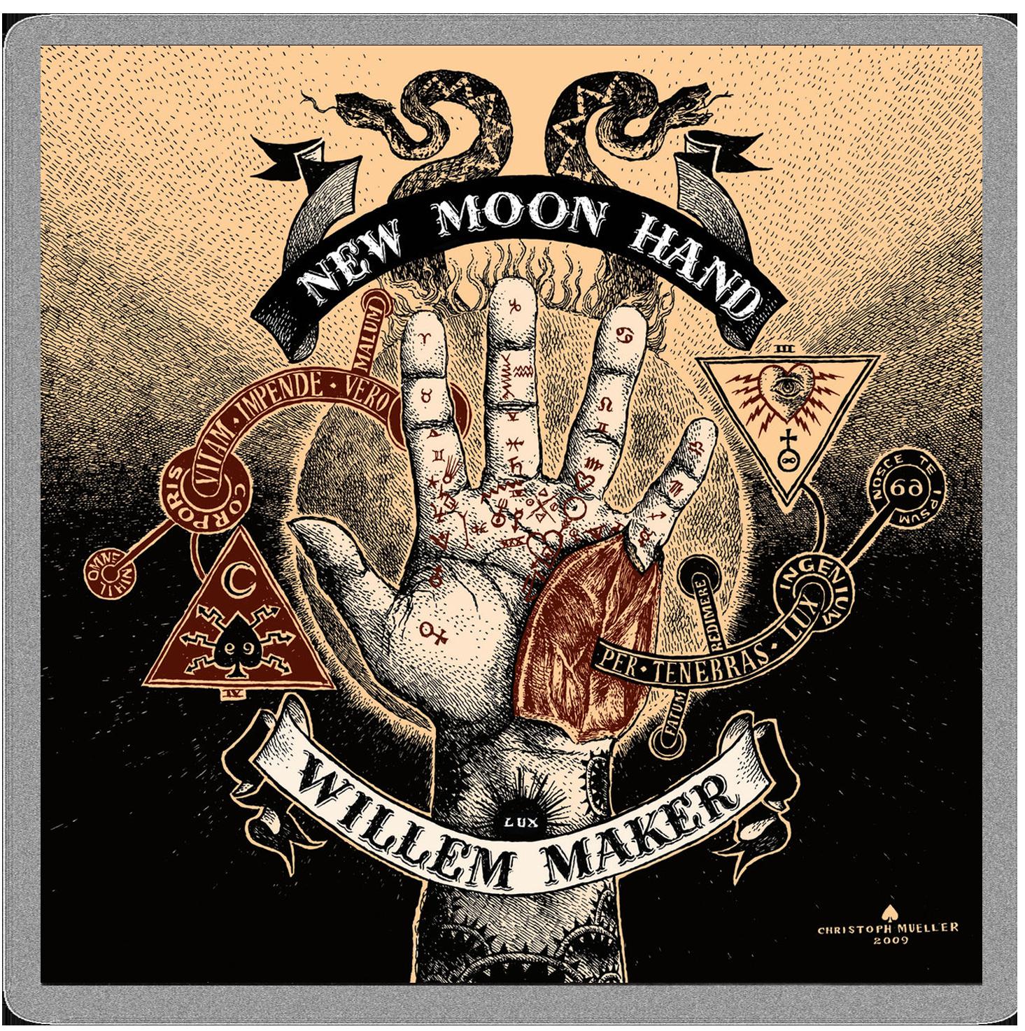 Willem Maker – New Moon Hand artwork by Christoph Mueller