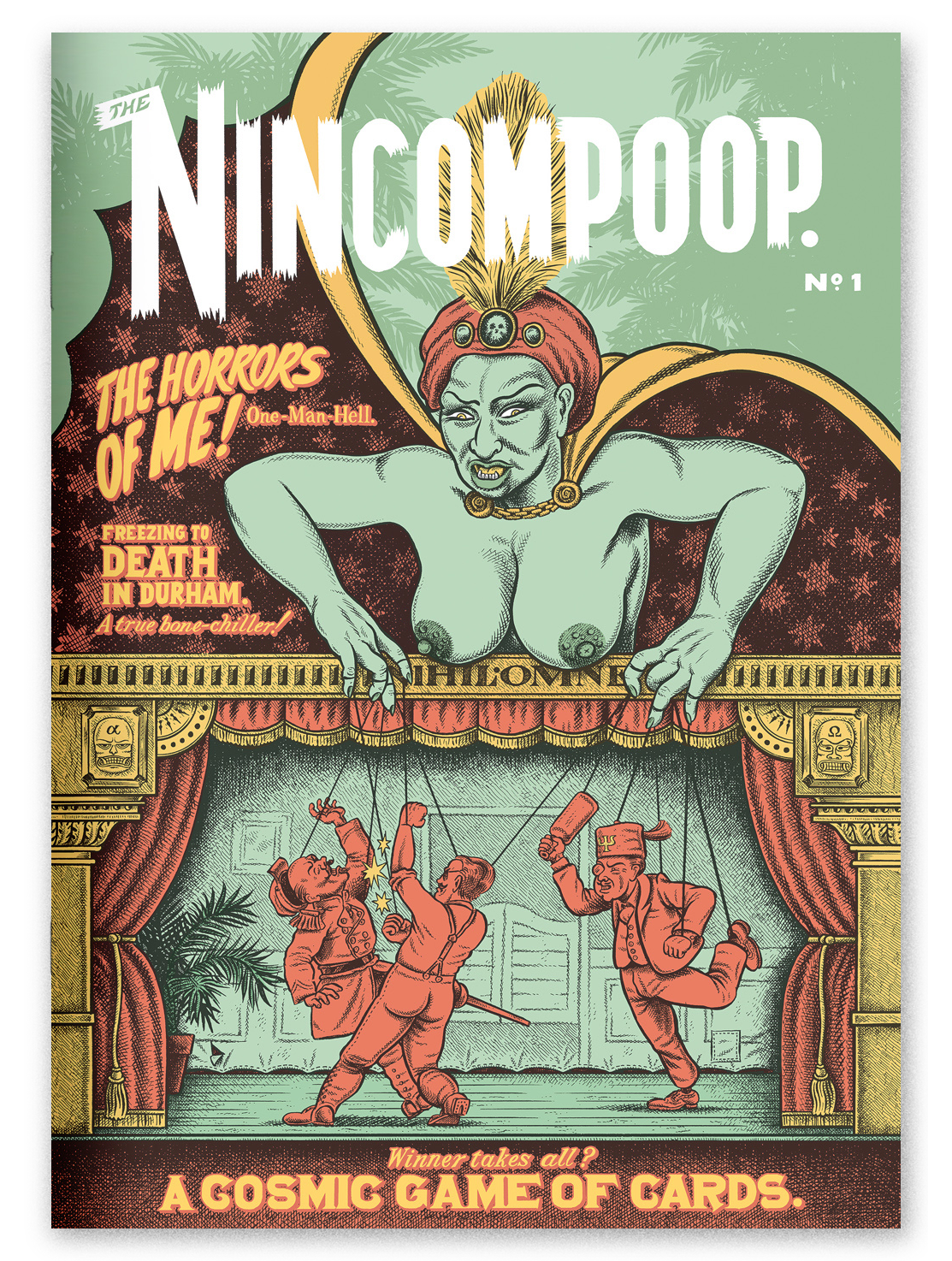 """The Nincompoop"" #1, self-published in an edition of 500 in 2016."