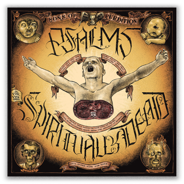 Psalms For The Spiritually Dead cover artwork by Christoph Mueller
