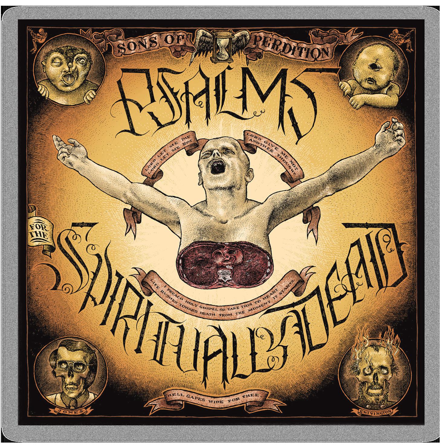 Psalms For The Spiritually Dead cover artwork by Christoph Mueller